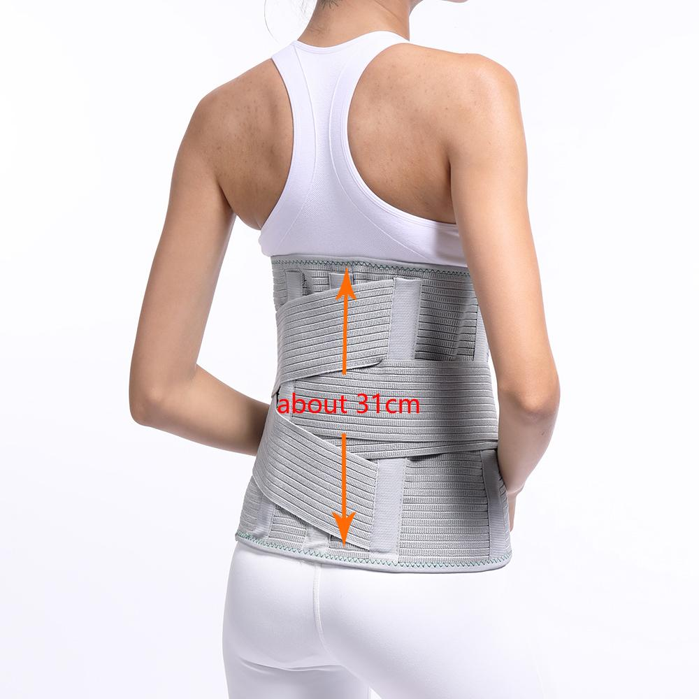 e06551ca434 Medical Lumbar Support Back Brace Waist Belt Spine Support Men Women Belts  Breathable Lumbar Corset Orthopedic Back Support Upper Back Support Posture  ...