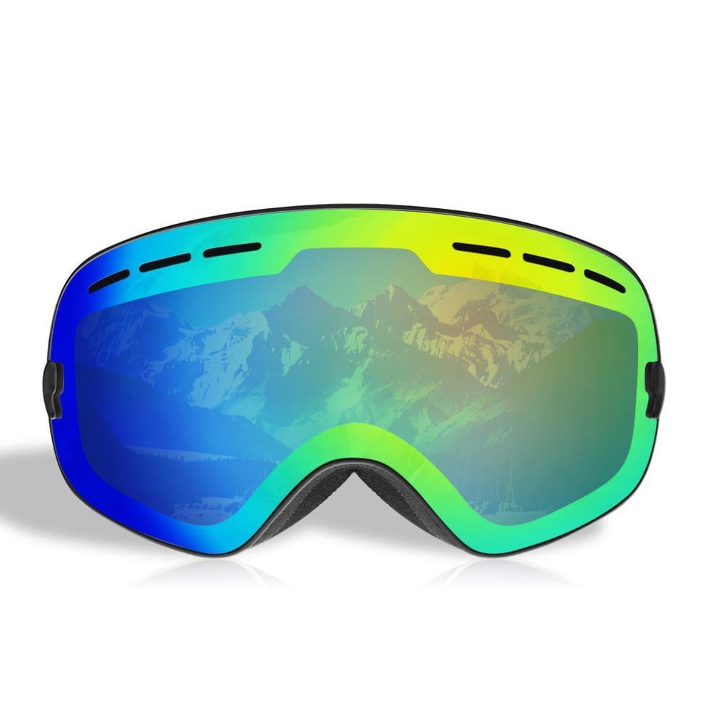 22a80019b0 Compre BE NICE Esquí Snowboard Snowmobile Gafas Con Imán Cambio Rápido De  Lente Protección UV400 Antivaho Gafas Sin Marco Esféricas A $31.26 Del  Ixiayu ...