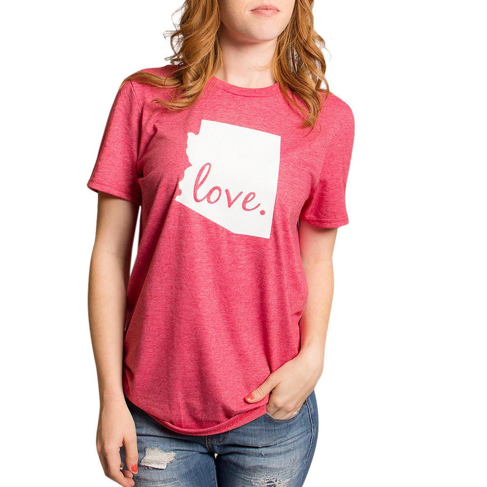 Corta De Moda Del Manga Impreso 2018 Camiseta Regalo Día Valentín Mujertops Camisetas San Carta Mujer SpGqVzMU