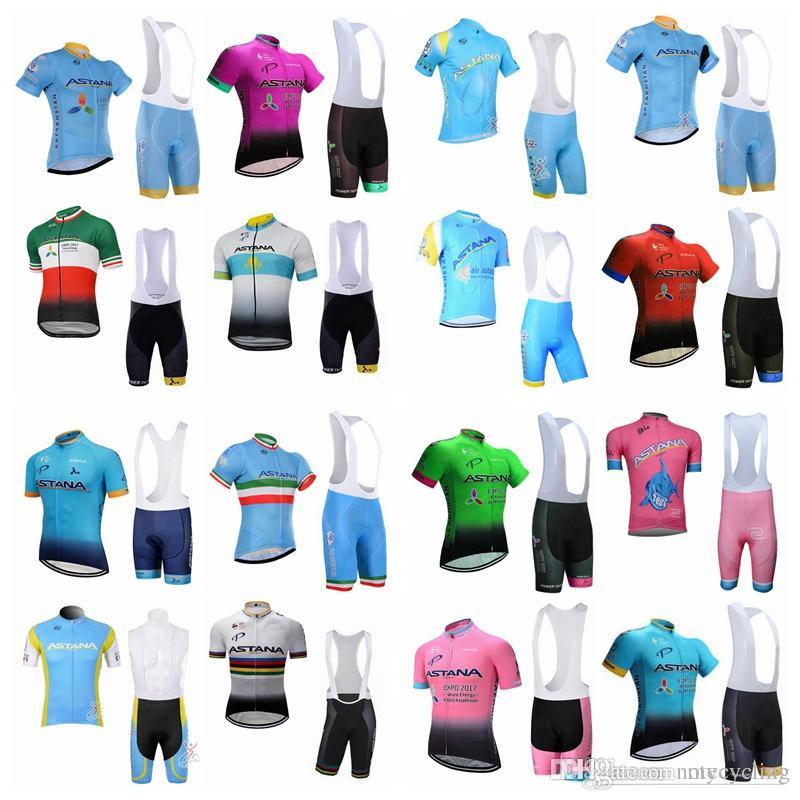 ... ASTANA Team Cycling Cycling Shorts Sets Ropa Ciclismo Quick Drying Men s  Professional Bikes Cycling Maillot Culotte A42 ASTANA Cycling Jersey Mtb  Bike ... 7075c7fdb