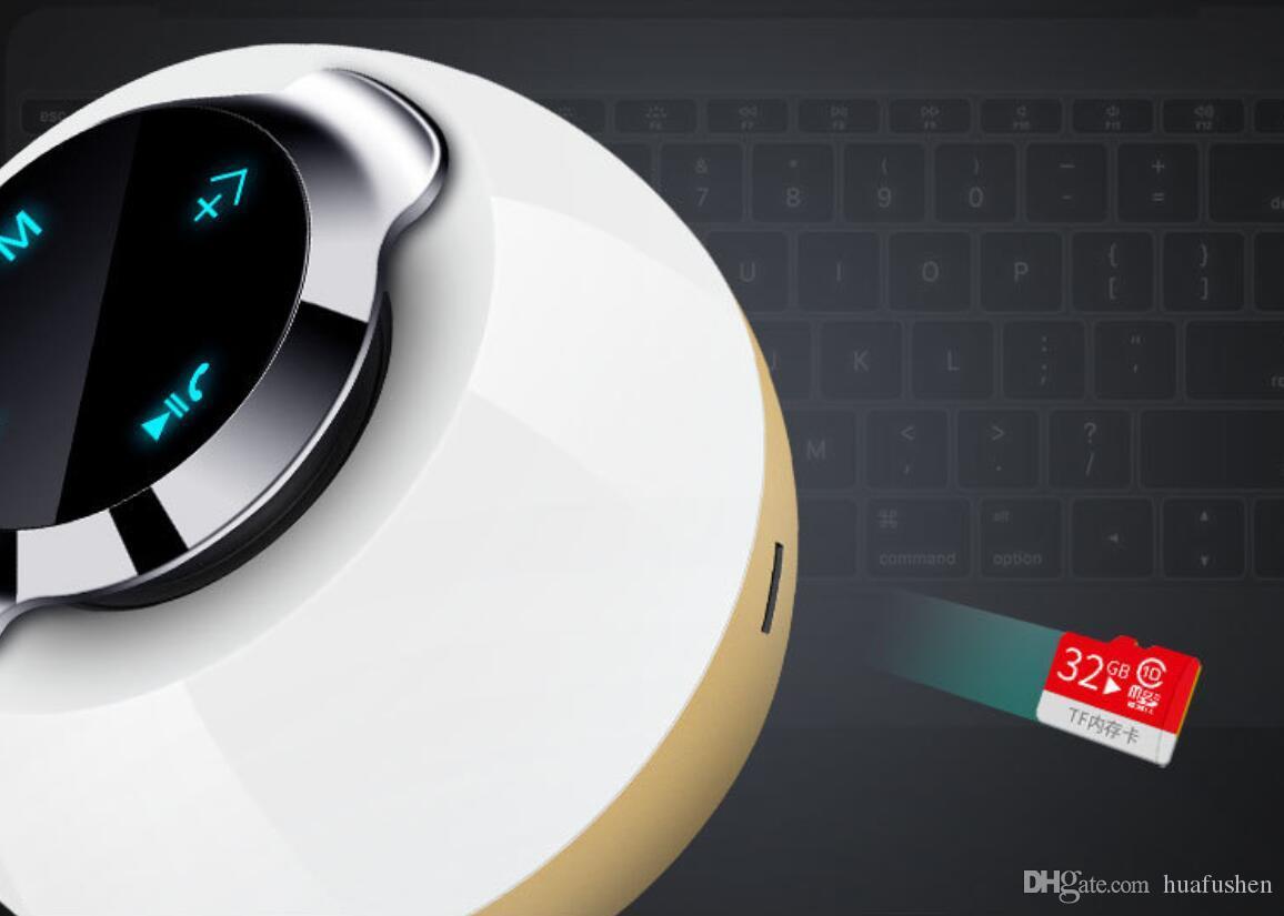 Портативный динамик Bluetooth с цветным светом.