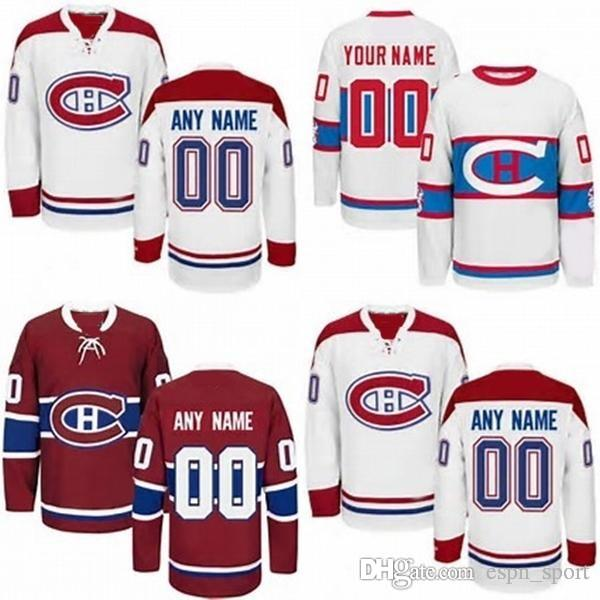Hot Sale Cheap Customized Montreal Canadiens Personalized Stitched ... 49bce2dd4