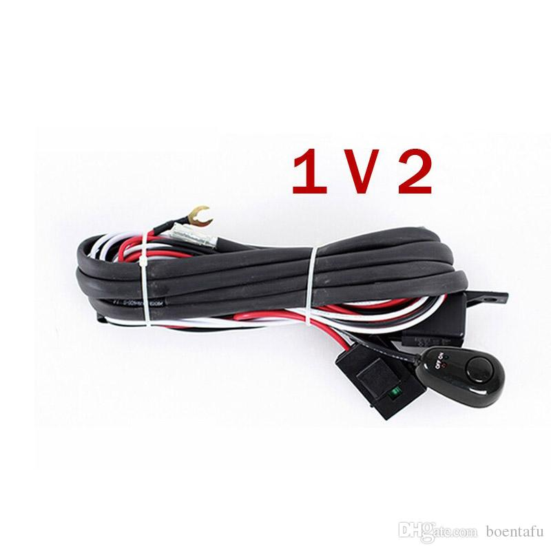 universal harness car driving holder relay on off led work light universal harness car driving holder relay on off led work light relay wire harness loom fuse switch 3 metter for connec rechargable led work light