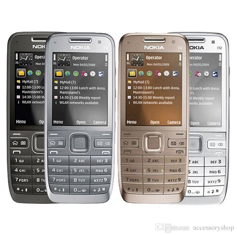 Reconditionnement Smartphone Reconditionné D origineE52 3G Bar Téléphone  2.4 Pouce Écran 3.2MP Caméra WIFI GPS Bluetooth Pas Cher Téléphone Gratuit  Post ... 2d19e4dced61