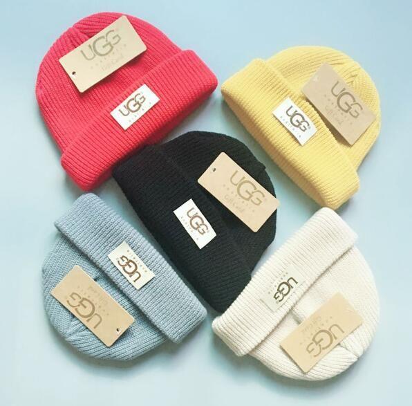 3a7319cedd8a6f Luxury Winter Brand CANADA Children Beanie Fashion Designer Bonnet ...
