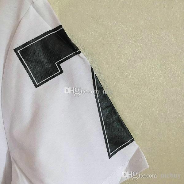 moda primavera marca designer de verão tshirt para homens reunindo estrela negra 7 4 carta de algodão impressão ocasional tshirt tee cobre camisas
