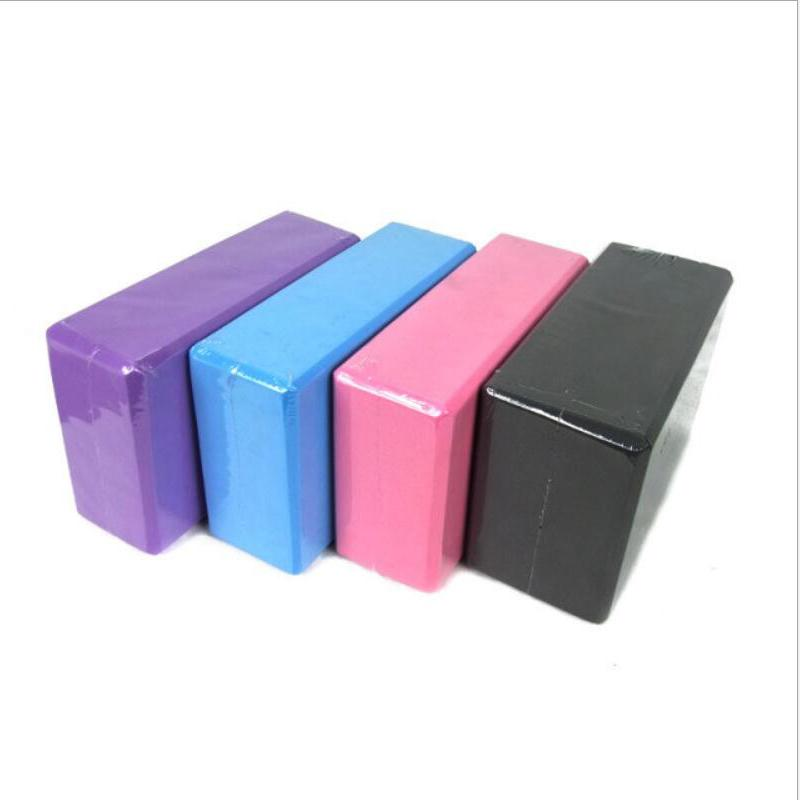 01d55f7ff5a24 2019 EVA Yoga Block Brick 120g Sports Exercise Gym Foam Workout Stretching  Aid Body Shaping Health Training Fitness Sets T From Alexandr