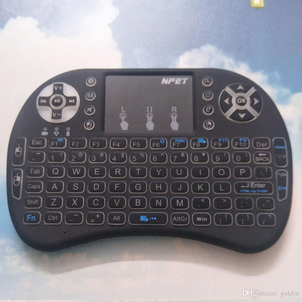 a19e02ae2d7 2019 NPET Small Wireless Keyboard And Mouse Set For Laptop With Touch Pad  Finger Print A Li Battery From Goldot, $7.04 | DHgate.Com