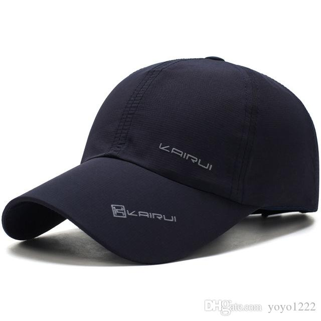 dfd496b8e97 Solid Summer Cap Branded Baseball Cap Men Women Dad Cap Bone ...