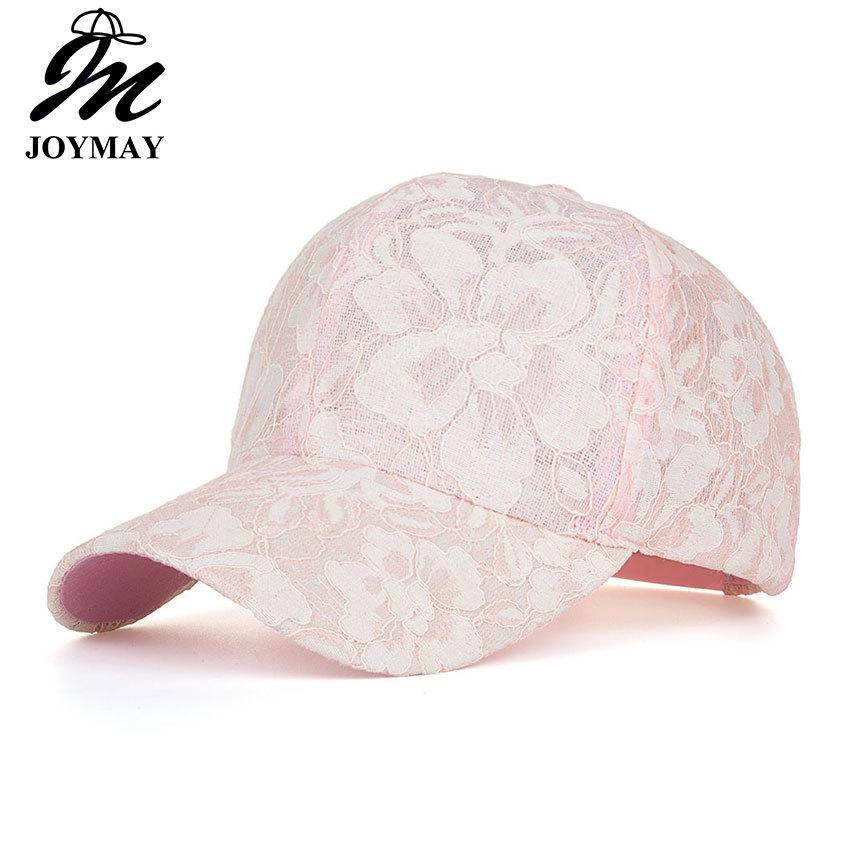 f70909ef7bfda JOYMAY New Arrival High Quality Summer Fashion Snapback Cap Lace Jacquard  For Women Baseball Cap B431 D18103006 Brixton Hats Trucker Cap From  Yizhan03
