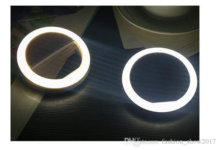 Мобильный телефон селфи LED кольцо вспышки объектива красоты заливка свет лампы Портативный клип для камеры мобильного телефона Smartphone