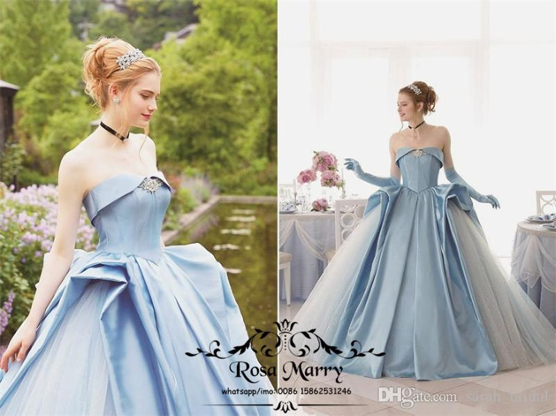 Cinderella Blue Sweet 16 Quinceanera Dresses 2018 Masquerade Ball Gown  Corset Plus Size Cheap Vestidos 15 Anos Birthday Prom Party Gowns Ball Gowns  ... 72e174501688