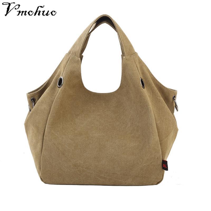 VMOHUO Female Handbag Women Crossbody Bags Large Thicken Canvas ... 1c679adb95