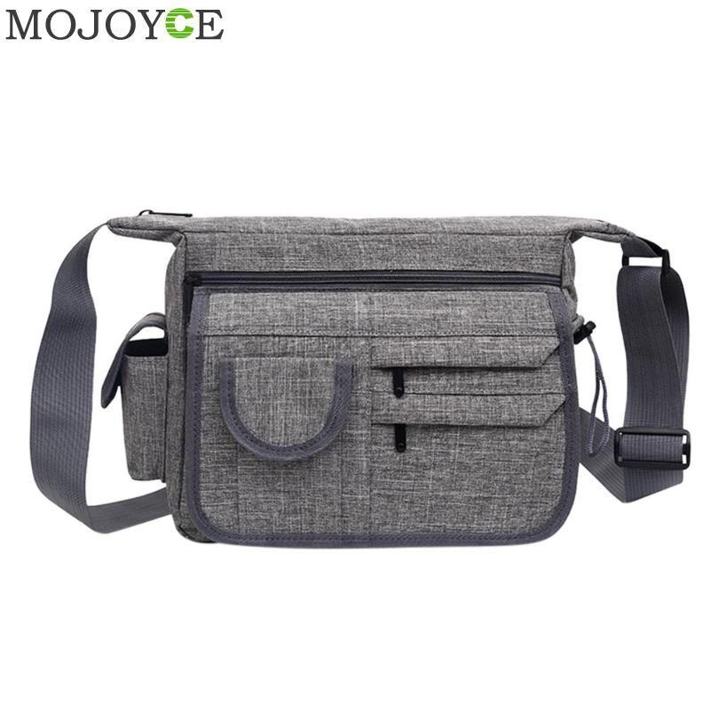 2018 New Fashion Men S Shoulder Bag Vintage Nylon Men Messenger Bag Korean  Style Cool Women Waterproof Handbag High Quality Brahmin Handbags Messenger  Bags ... 47c853194a63f