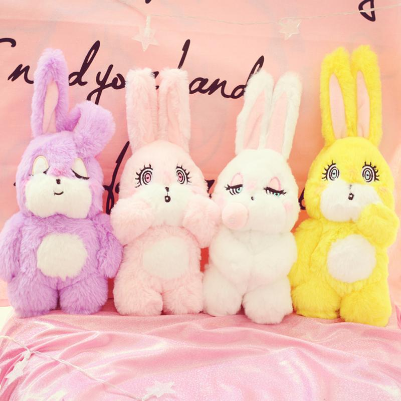 36aa29783a70 2019 Candice Guo Plush Toy Stuffed Doll Cartoon Animal Soft Rabbit ...