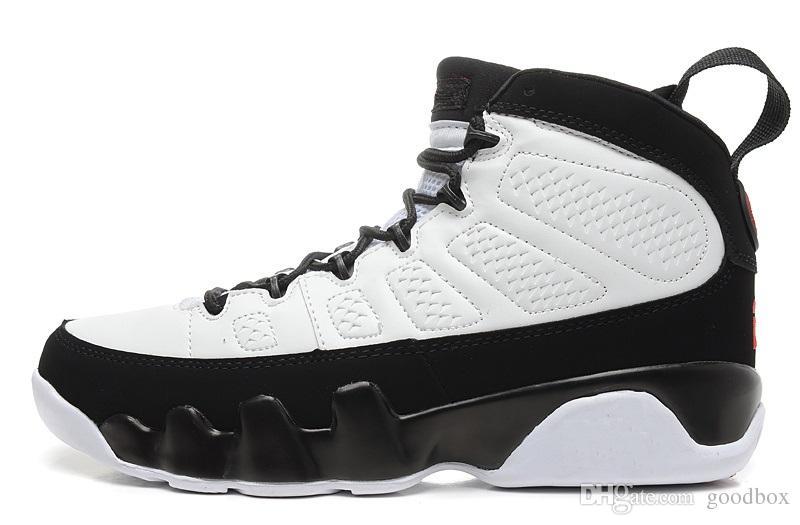Bred 9s Новое прибытие из натуральной кожи мужчины 9S баскетбольные кроссовки лучший выбор для вас Размер США 8 - 13 Бесплатная доставка