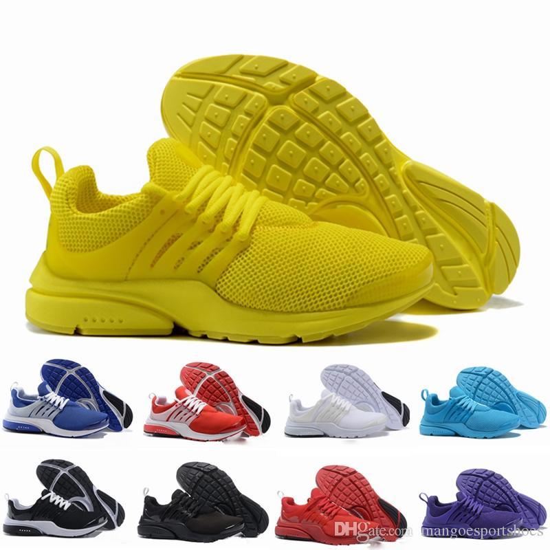 cheap for discount 71c68 b8331 Acheter Taille Haute Chaussures De Course Presto Hommes Femmes Prestos  Ultra BR QS Jaune Rose Oreo Mode De Plein Air Baskets Taille EUR 36 46 De   83.25 Du ...
