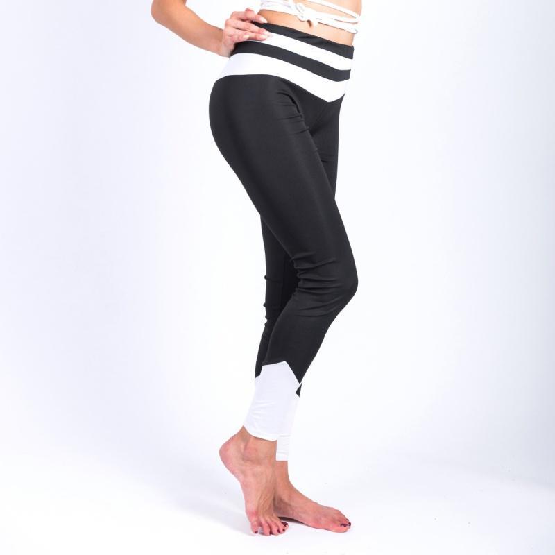 Compre   Mujeres Medias De Cintura Alta Ropa Deportiva Mujer Gimnasio  Leggings Pantalones De Yoga Para Malla Capris Deporte Fitness Deportes  Pantalones ... 98c17387c6055