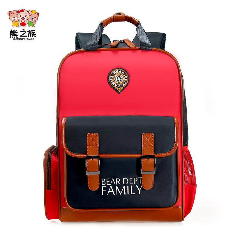 BEAR DEPT FAMILY Brand Children Schoolbags Kindergarten Boys Girls Kids  Orthopedic Backpacks Primary School Teen Handbags Spinal Y18100705 Girls  Rolling ... c430b6ccd8caf