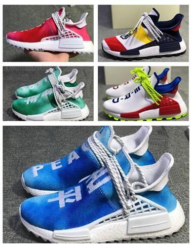 uk availability 08155 d1f4c BBC x Hu Human Race Trail Holi Shoes, Heart Mind Stripes endorse compatriot  Pusha T.Sports Running shoes,Pusha T Unveils Pharrell Hu Friends