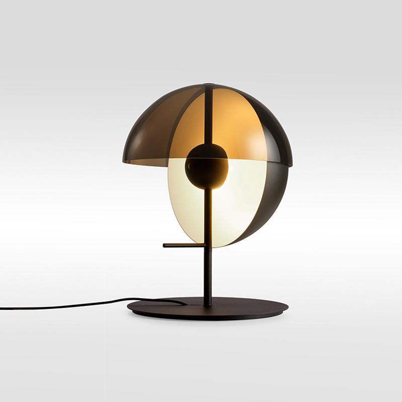 À Lampe Verre Salon 2269 Table Design Lumière En Post Pour Bureau De Noir Moderne Chambre Le Led Blanc NnOv8wm0