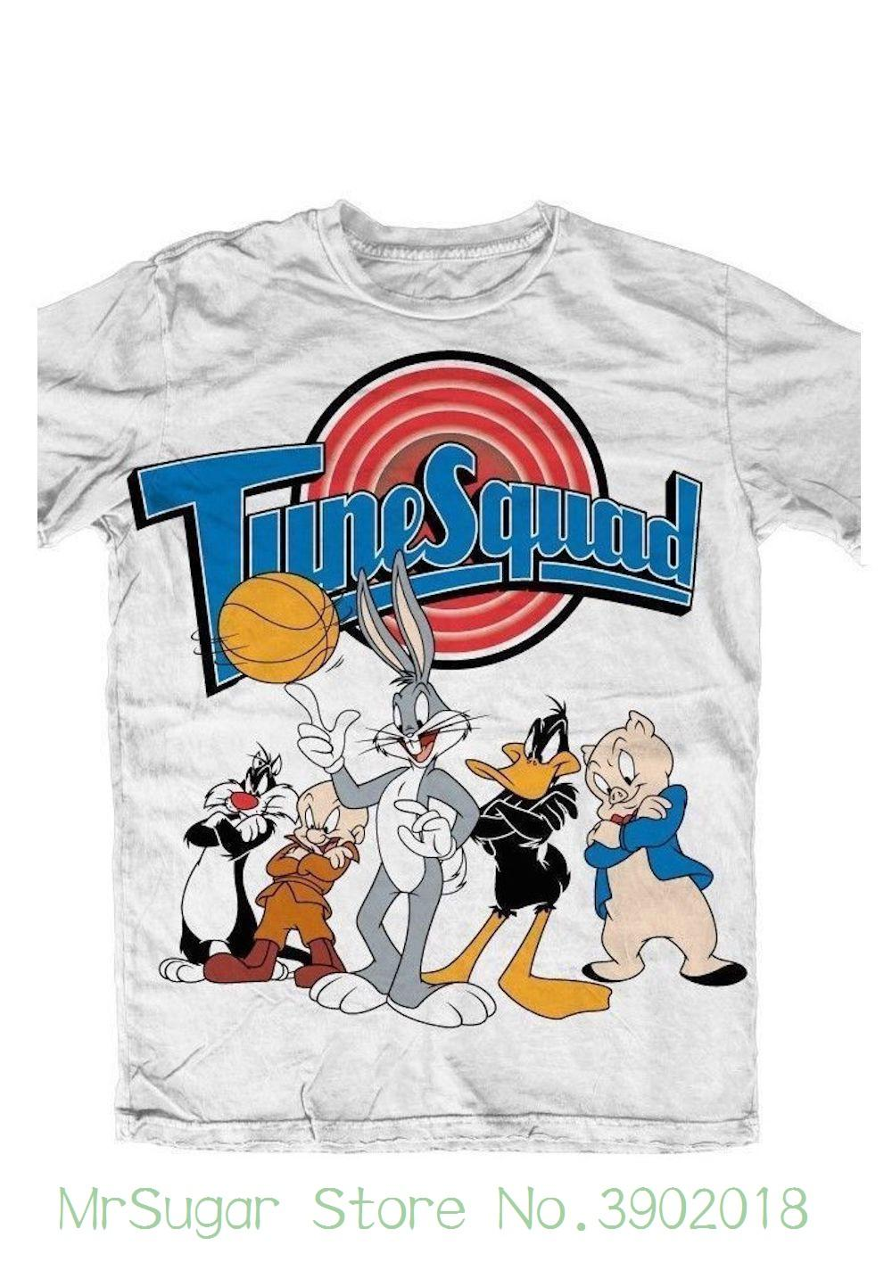 2eaa429b Looney Tunes Space Jam Squad Official Mens T Shirt Male Best Selling T Shirt  Designs Shirts Interesting T Shirt Designs From Mrsugarstore, $24.2| DHgate. Com