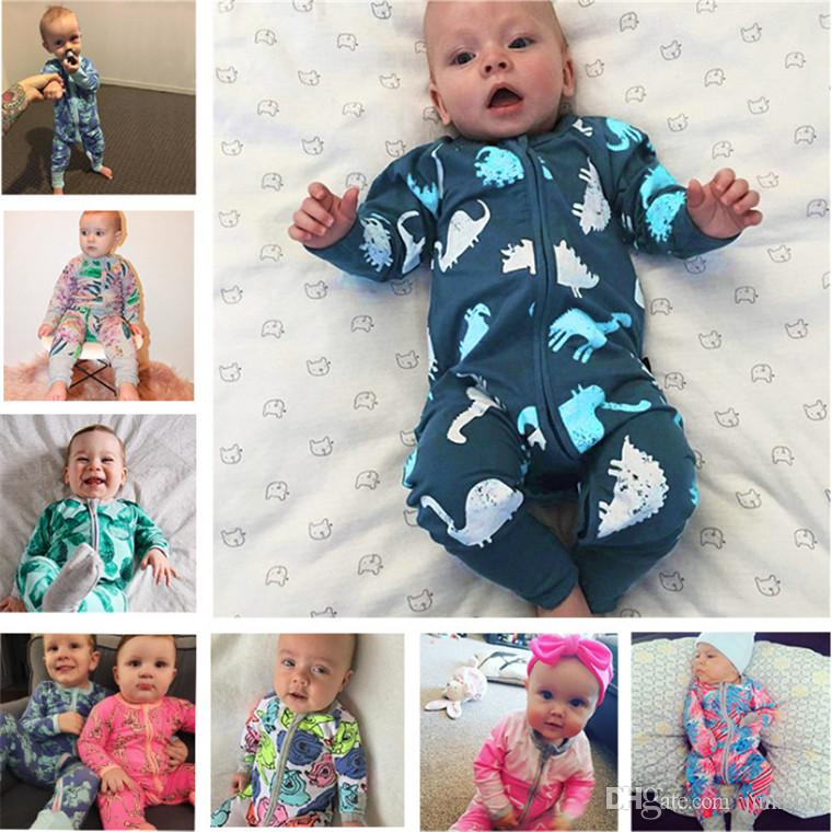 4f0587304911 INS 2018 Newest 37 Colours Baby Flower Rompers Cute Body Suit Baby ...