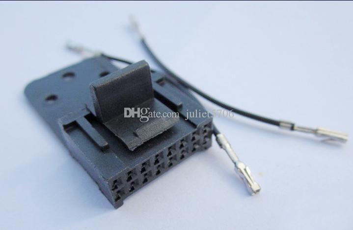 10x 16 Pin Terminal Tail Dock Accessory Connector Kit For Motorola Mobile  Radio M216, M1225, Sportbase, M400, Radius Mobile