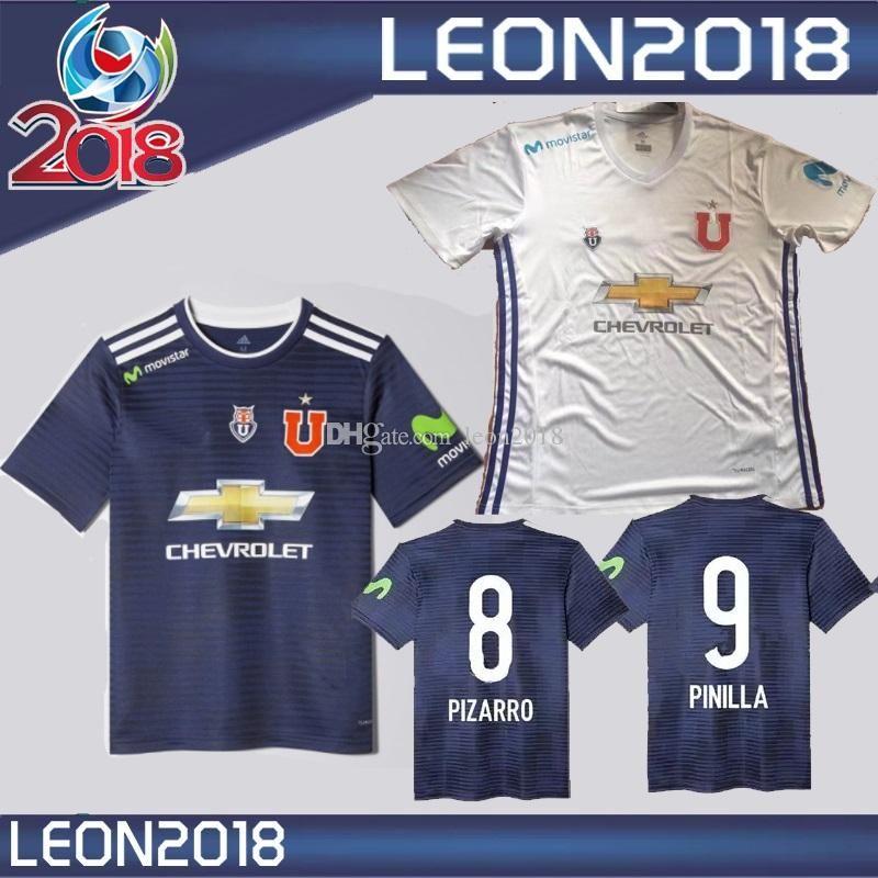 3eee5850c 2019 Top Quality 2018 Universidad De Chile Soccer Jersey 2019 PINILLA  PIZARRO UBILLA REYES Football Jerseys Shirts Camiseta De Futbol From  Oyzu2018