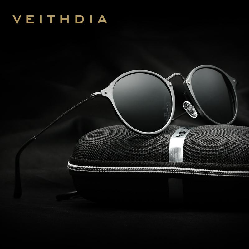 fc4152e5da3 Veithdia Brand Designer Fashion Unisex Sun Glasses Polarized Coating Mirror  Sunglasses Round Male Eyewear For Men Women 6358 Cool Sunglasses Custom ...