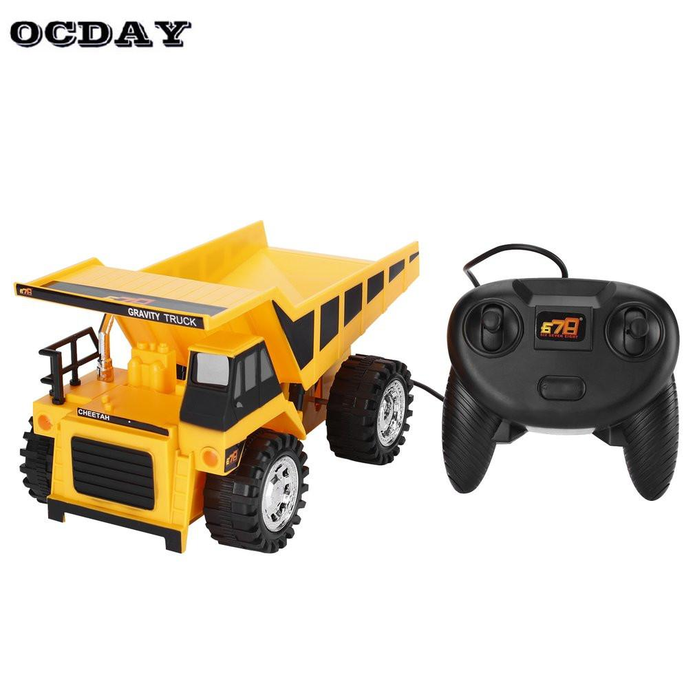 rc trucks bulldozer charging rtr dump car remote control rc truck