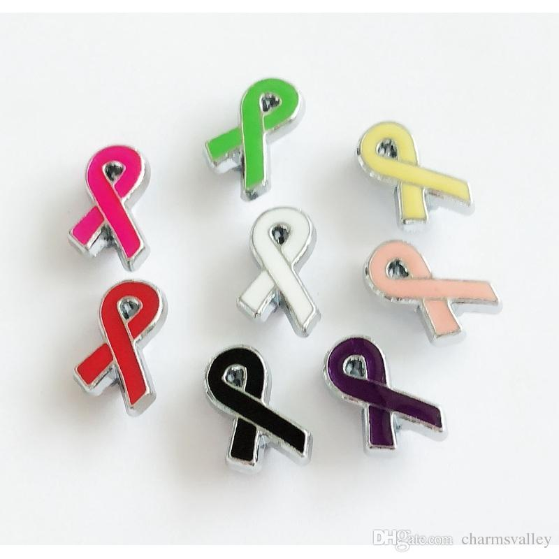 8 MM Enamel Ribbon Slot Encantos Letras DIY Acessórios Fit 8mm Pulseira Pet Dog Name Coleiras Cintos Telefone Tiras