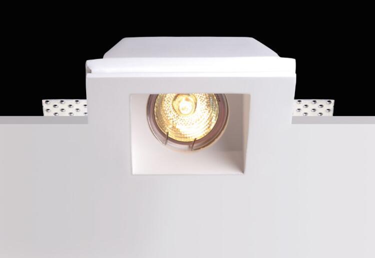 Plafoniere Con Lampadine Led : Acquista led plafoniera da incasso a gesso lampada in