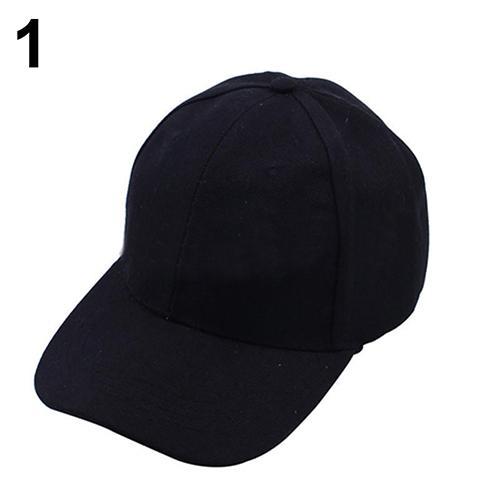 b0bdac0aa05 2019 2017 New Women Men Casual S Baseball Cap Solid Color Blank Visor Hat  Snapback Cap From Pothos