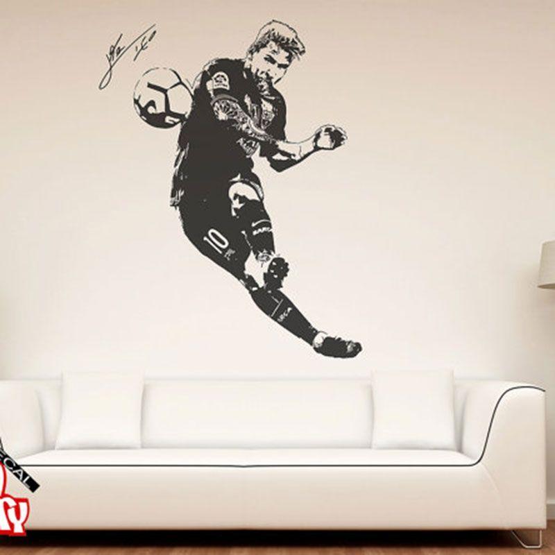 Messi 2017 La Fútbol Etiqueta Compre Lionel De Pared Tatuajes YgIb7f6yvm
