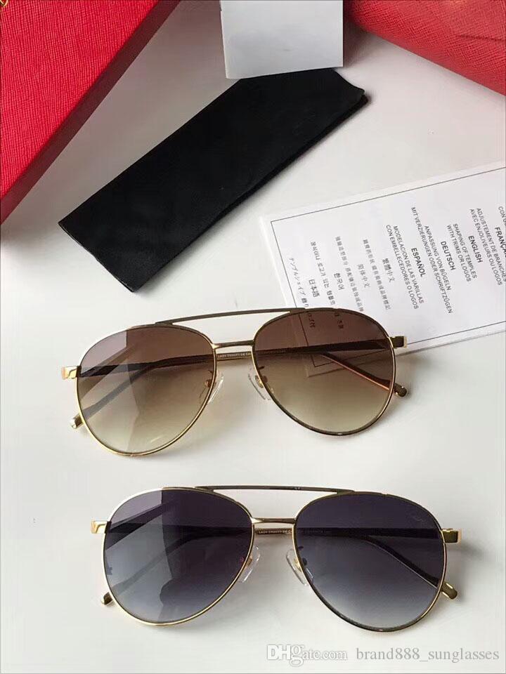 e3e09a5ee Compre Nova Moda Óculos De Sol ESW00074 Modelo Full Frame Uv400 Óculos De  Proteção De Alta Qualidade Com A Caixa Original De Brand888_sunglasses, ...