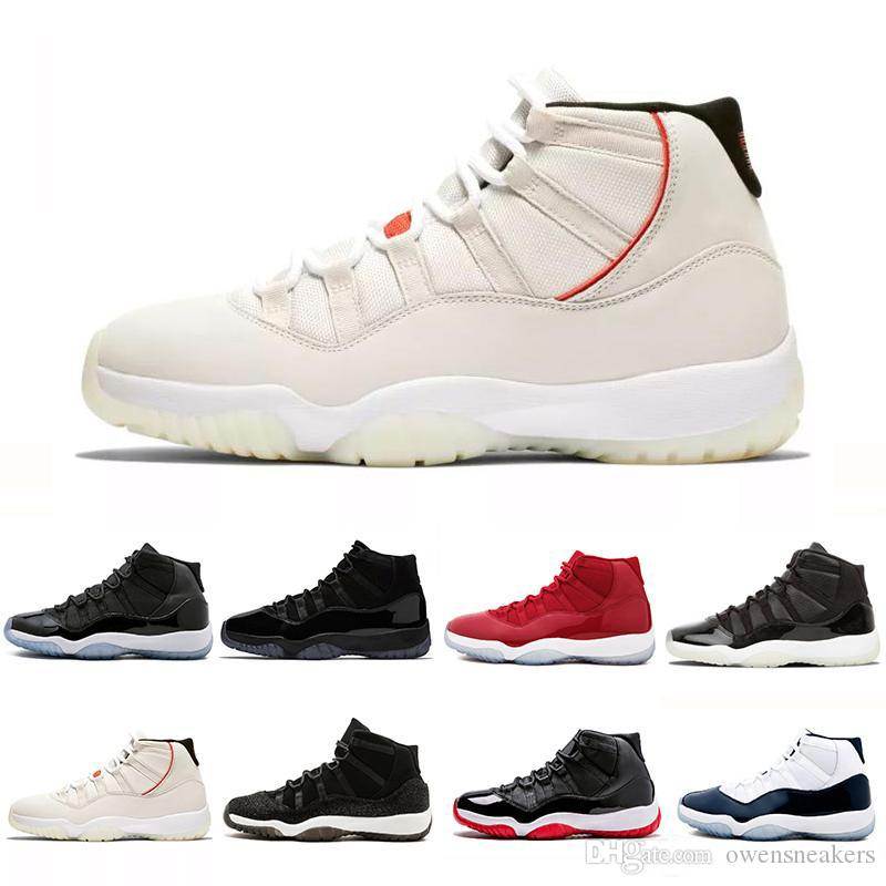 41bc5300f223 Concord High 45 11 XI 11s Cap And Gown PRM Heiress Gym Red Chicago Platinum  Tint Space Jams Men Basketball Shoes Sports Sneakers Running Shoes  Basketball ...