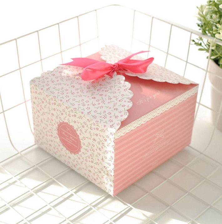 Large Gift Box Candy Box Bridal Wedding Casamento Candy Packaging