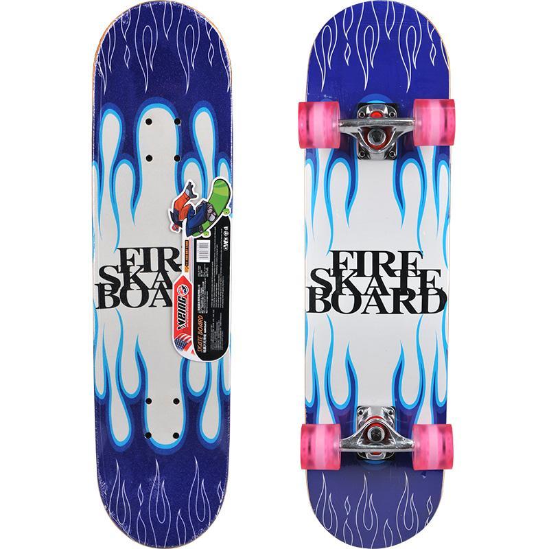 Hedendaags 2019 WEING 522 Double Tilt Skateboard Penny Board Skate Longboard VF-85