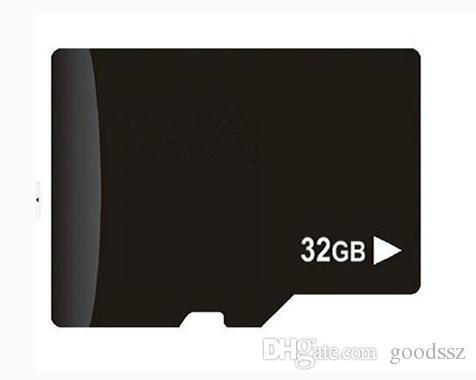 بطاقة ذاكرة TF سعة 32 جيجابايت سعة 32 جيجا بايت حقيقية مع محول لأجهزة الكمبيوتر اللوحي MP3 / 4 Player