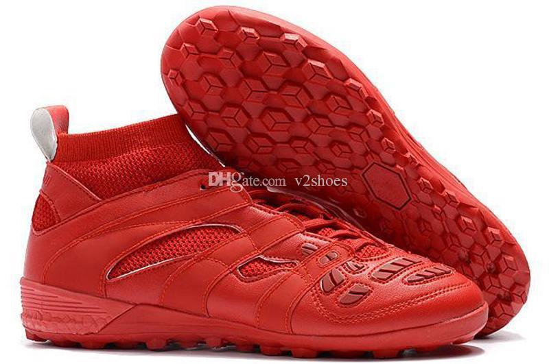 Predator Hızlandırıcı DB 2017 David Beckham Futbol Cleats Erkek Ayakkabı Futbol Çizmeler Yeni Varış Toptan Damla Nakliye