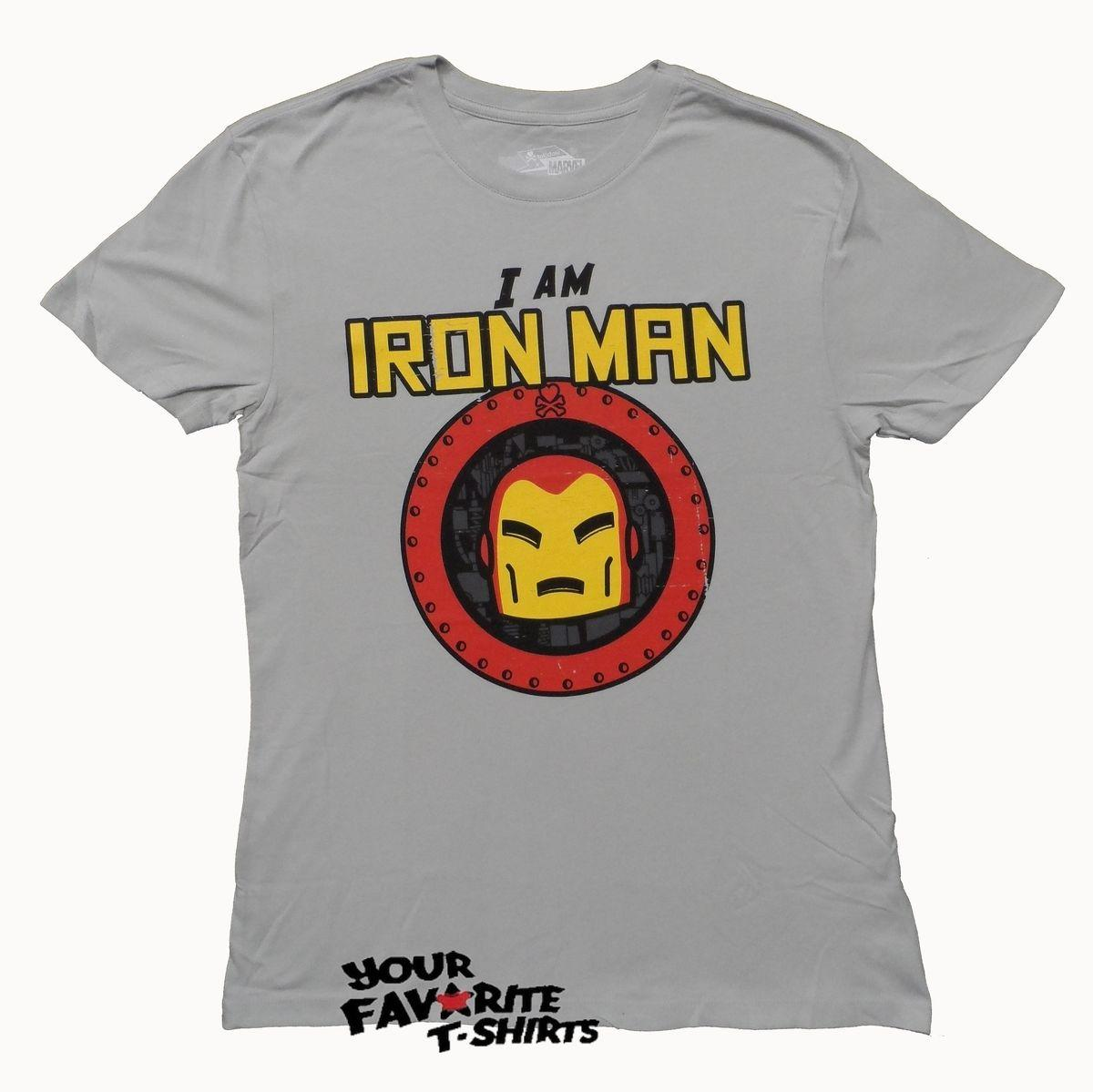 1efcd14e Details Zu Iron Man I Am Avengers Tokidoki X Marvel Licensed Adult T Shirt  Funny Unisex Casual Awesome T Shirts Online A T Shirts From Vectorbombb, ...