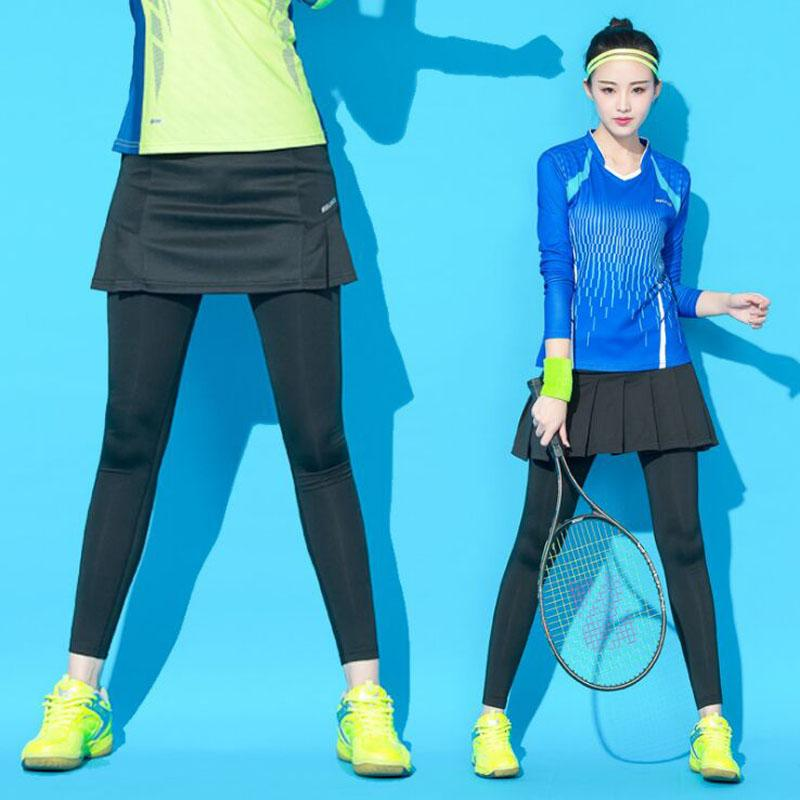 2fdaf2d9f Pantalones cortos de tenis para mujeres, Pantalón de bádminton profesional  para mujer, Falda de tenis de cuerpo entero femenino Pantalones Falda ...