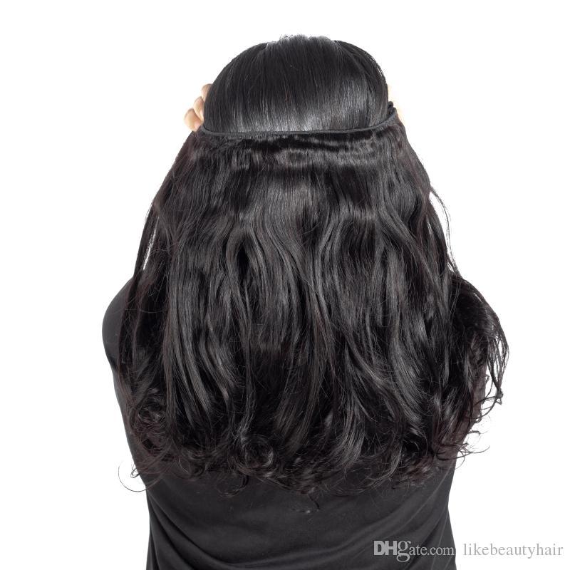 9a funmi الشعر حزم ماجيك حليقة الخام البرازيلي الهندي بيرو الماليزية الشعر حزم اللون الطبيعي 3 قطعة / الوحدة الإنسان الشعر