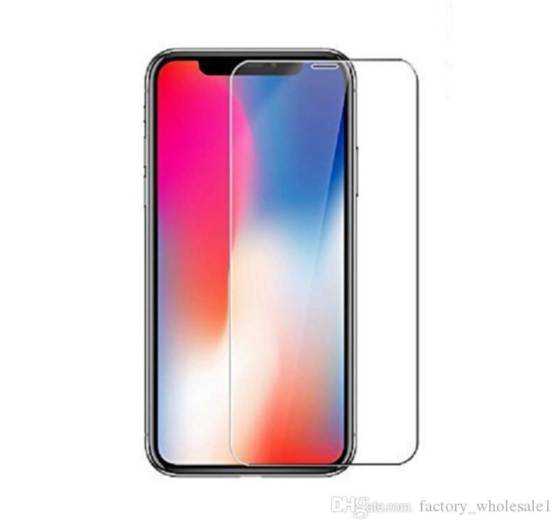 Pour Iphone X 8 7 7 plus 6 J7 2017 LG Stylo 3 Film Protecteur D'écran En Verre Trempé Pour Samsung S6 S7 EP Qualité Premium