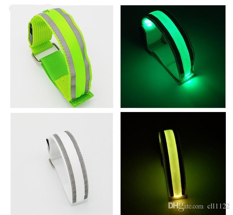 LED Bracelet à commande vocale Glo-sticks Bracelet à clignotant électronique Bracelets à lueur