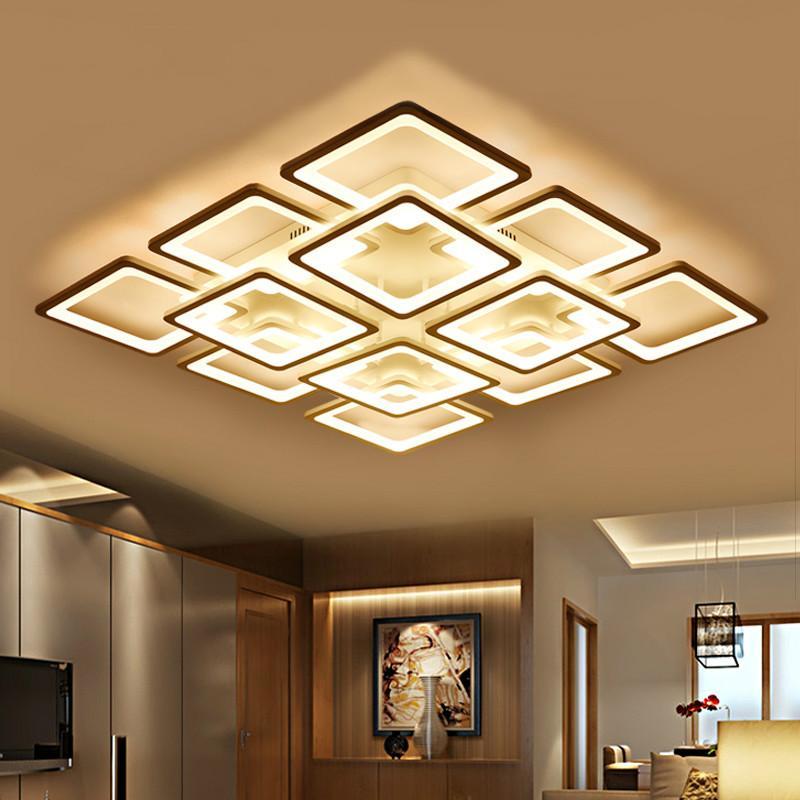 Licht & Beleuchtung Deckenleuchten Moderne Led Kristall Deckenleuchte Licht Mit 8 Lichter Für Wohnzimmer Beleuchtung Für Zuhause Lustre De Sala Kostenloser Versand Leuchte