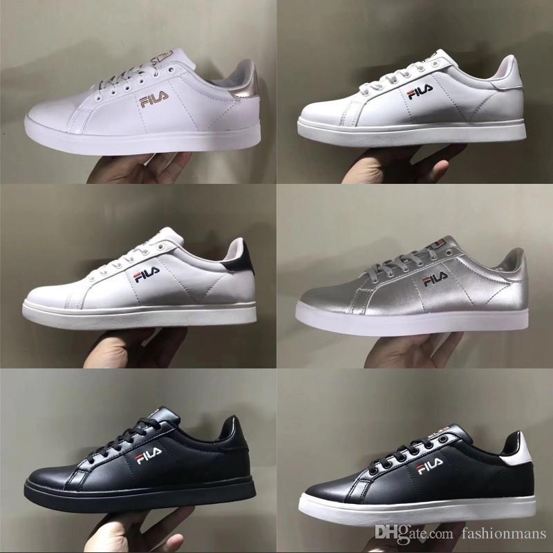 974440e9489 Compre 2018 FILA Sapatos Casuais Para Mens Sneakers Moda Feminina Atlético  Esporte Sapatos Corss Caminhadas Jogging Tênis De Grife Clássico Tamanho 36  44 De ...