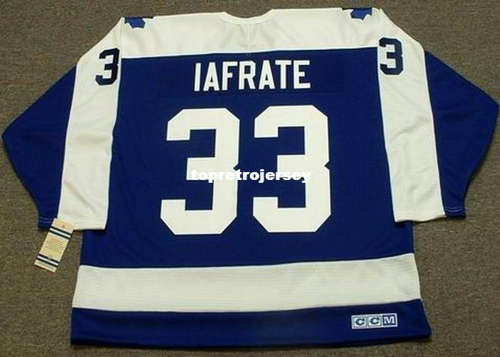 2019 Wholesale Mens AL IAFRATE Toronto Maple Leafs 1987 CCM Vintage Cheap  Retro Hockey Jersey From Topretrojersey a118e002551