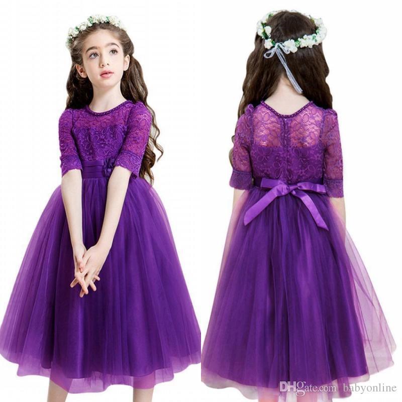 Famous Purple Childrens Bridesmaid Dresses Images - Wedding Plan ...